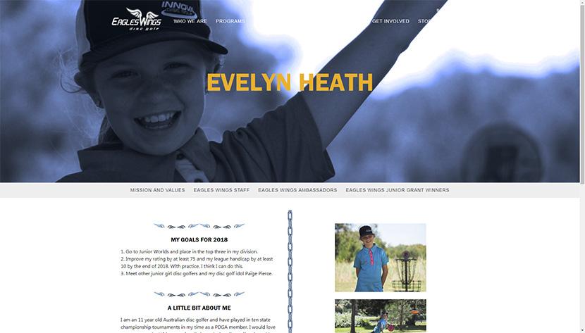Eagle Wings Junior Grant Winner! – Evelyn's Disc Golf Adventures