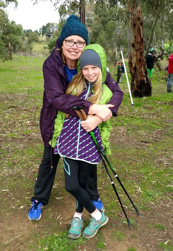 Carol and Evelyn at the 2018 Inverleigh Disc Golf Open