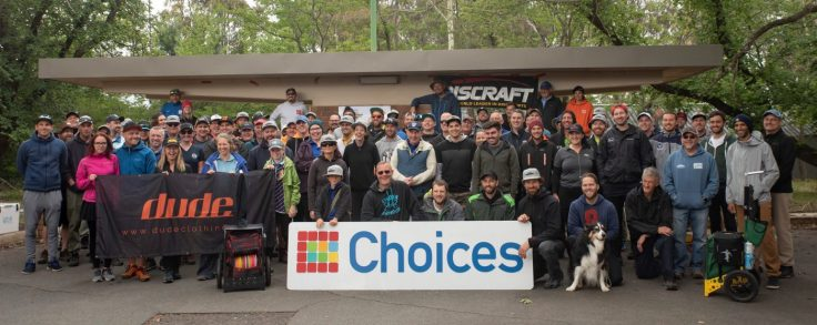 Competitors at the 2018 Australian Disc Golf Championships
