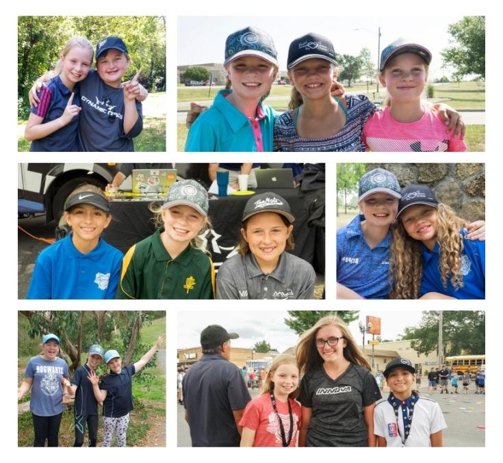 Disc Golf Girls....Lifelong Friends. Evelyn Heath. Maryjane Stevens, Lily Ruthen, Ebonie Hayes, Savanah Sweet, Riley, Lily Sweeten